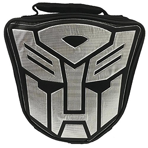 Transformers Insulated Soft Lunch Kit, Metallic Autobot Logo - Logo Lunch Box
