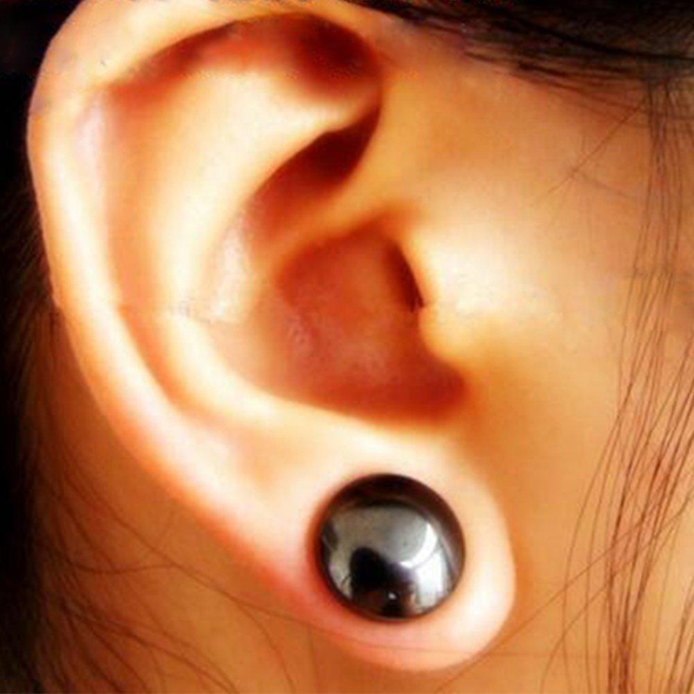 Kuulee 2 Pair Bio Magnetic Healthcare Earring Weight Loss Earrings Slimming  Ear Healthy Stimulating Acupoints Stud