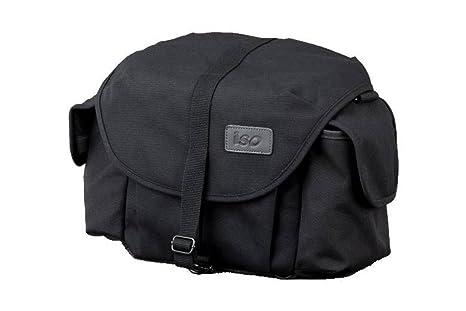 ISO ISO/MEKK F-3X - Bolsa para cámara de fotos, color negro ...