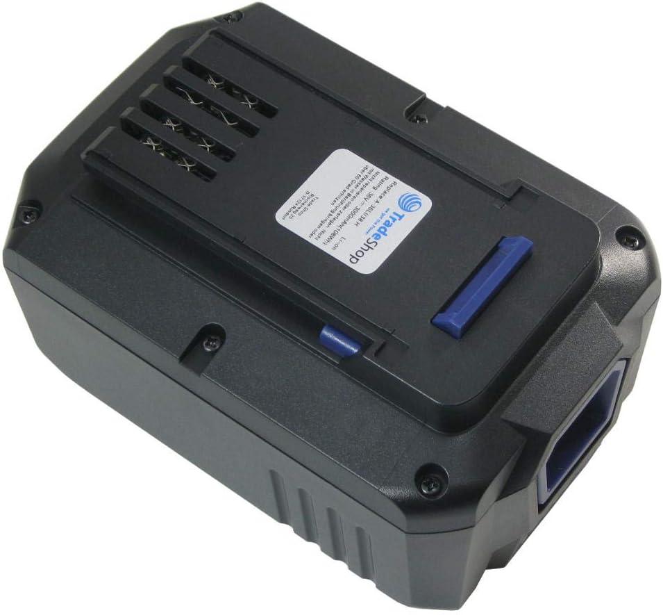 2x AKKU 36V 3000mAh Li-Ion für LUX-Tools Highwheel-Akku-Rasenmäher A-36 Li//38 H