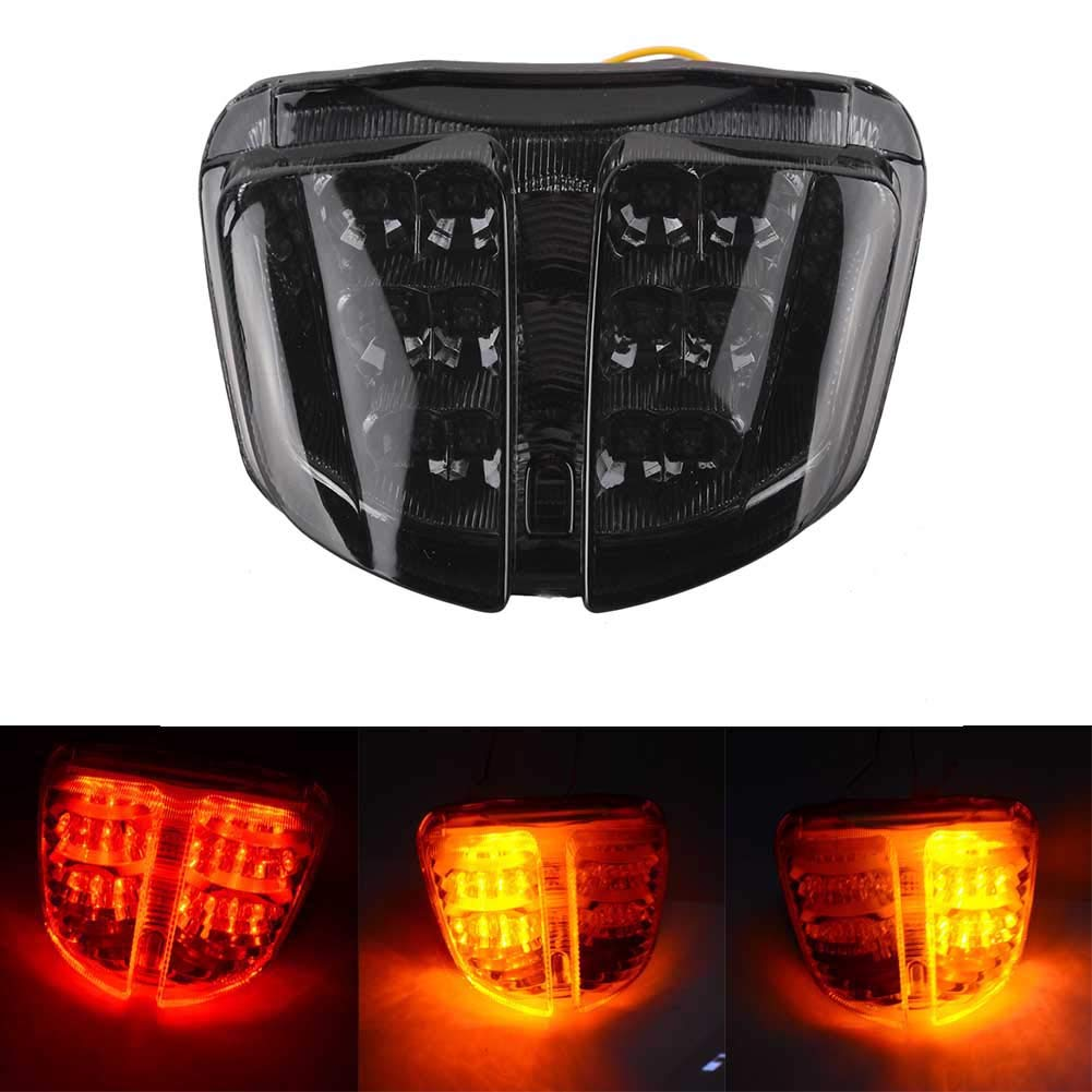 GZYF Brake Turn Signals Tail Light Taillight Fit Suzuki GSXR 600 750 2006 2007