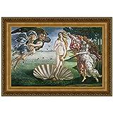Design Toscano The Birth of Venus, 1485, Canvas Replica Painting: Large