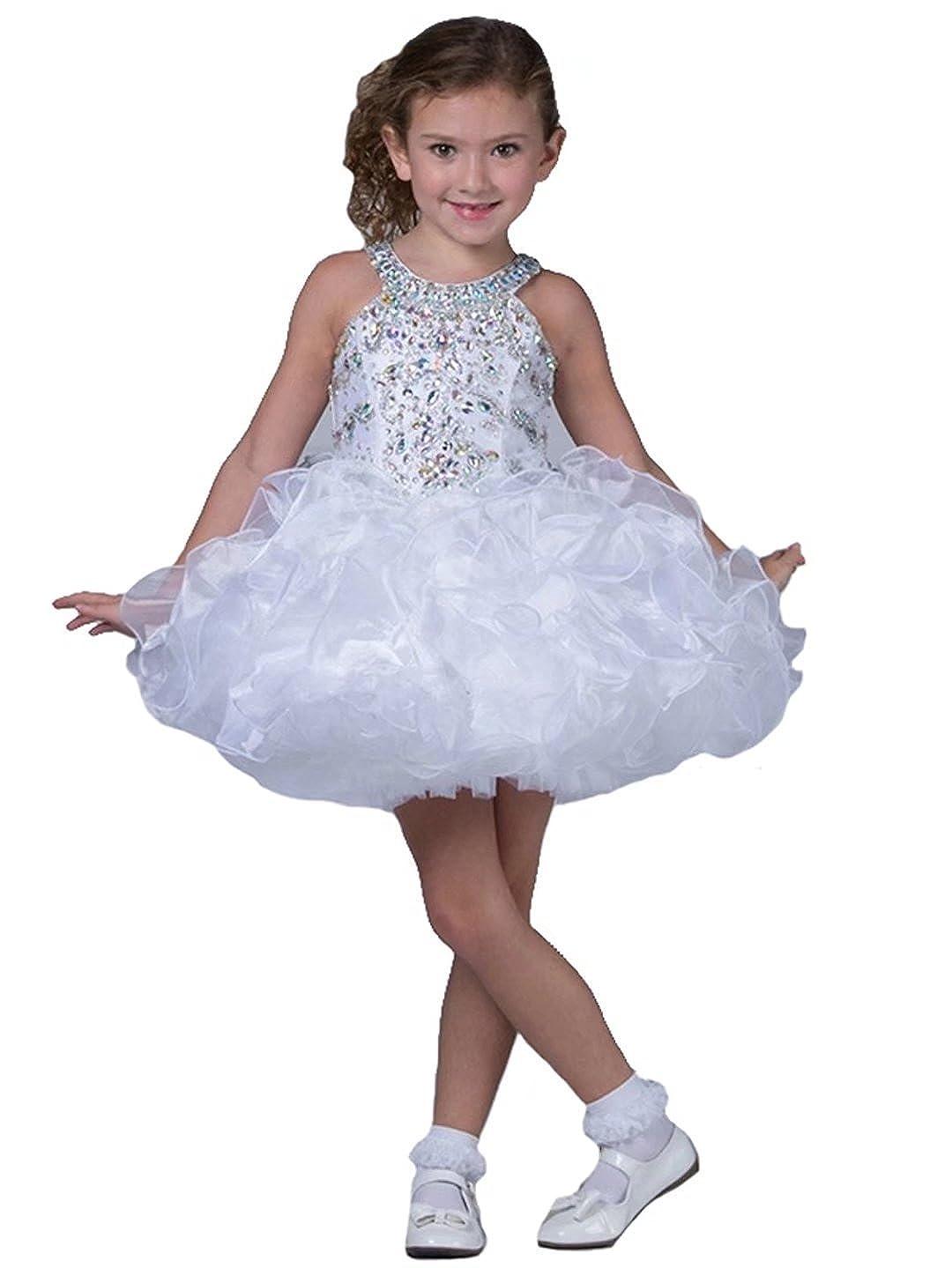 Lilibridal DRESS ガールズ ガールズ 1 DRESS ホワイト 1 B0762JLNSJ, 国産品:d2a322d7 --- sharoshka.org