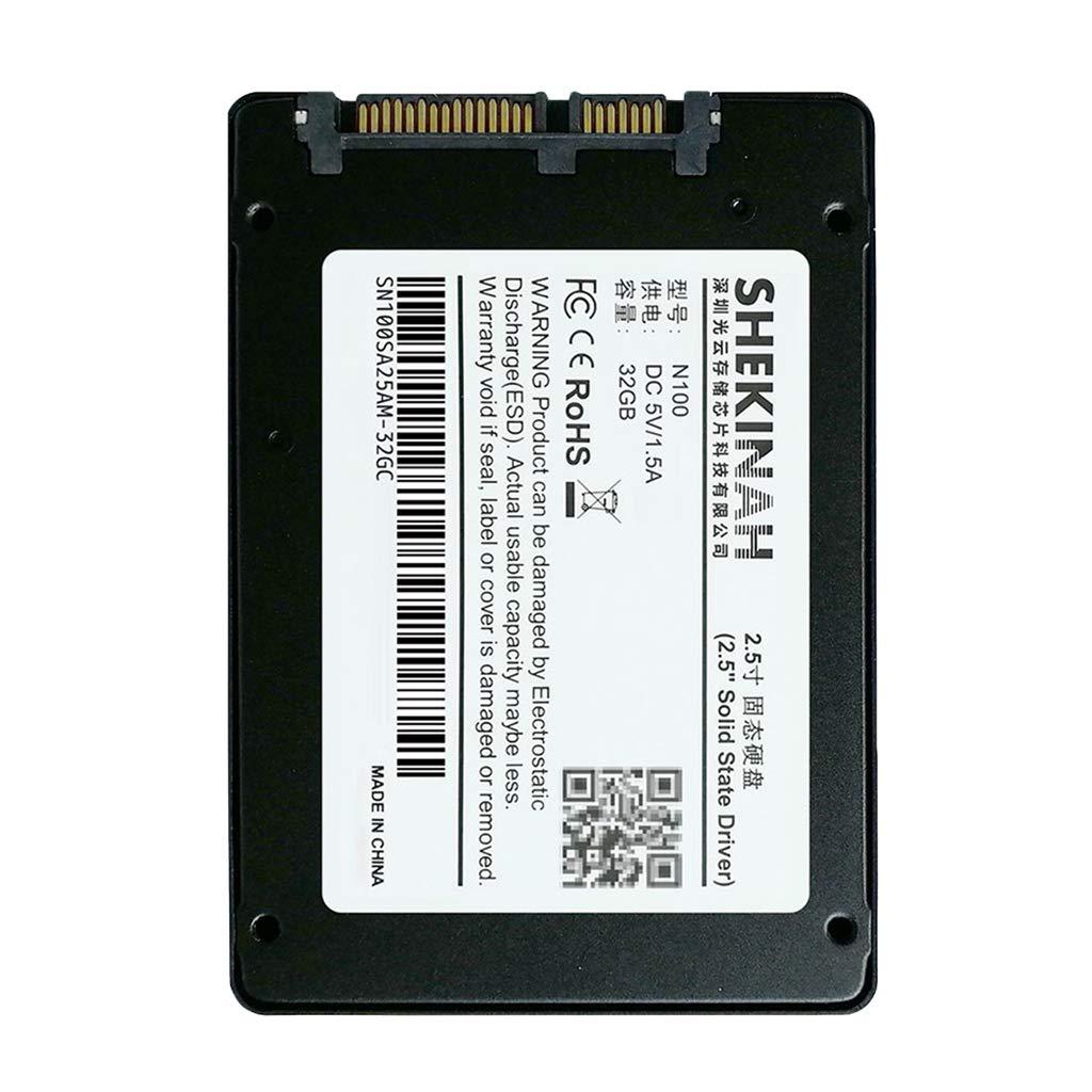 perfk Unidad de Disco Duro SSD mSATA III con 300 MB/s Lectura de ...