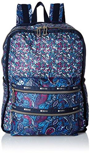 LeSportsac Women's Functional Backpack, East Combo Blue