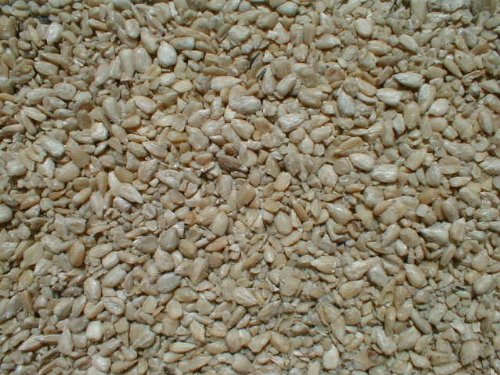 Bird Seed Bag - Sunflower Seeds - Shelled - 50 lbs-Med. Chips