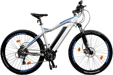 NCM Moscow Plus Electric Mountain Bike E-Bike 250W 48V 16Ah 768 Wh Battery  … (29 Silver): Amazon.co.uk: Sports & Outdoors