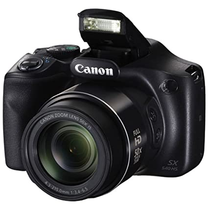 Canon PowerShot SX540 HS Digital Camera + Transcend 32GB Memory Card + Digital Camera Case + Full Tripod + USB Card Reader + Memory Card Wallet + ...