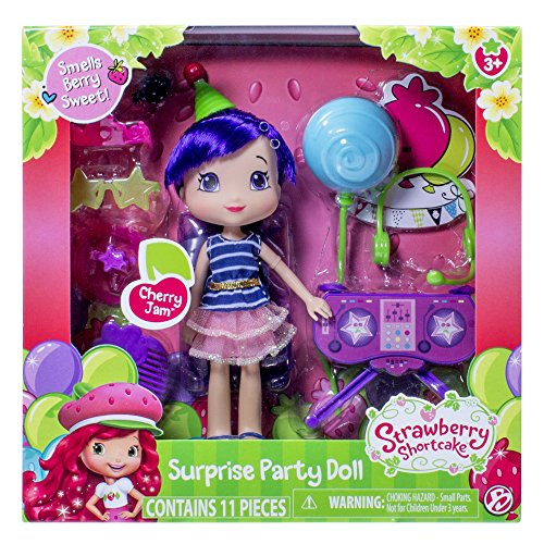 The Bridge Direct, Strawberry Shortcake, Surprise Party Doll, Cherry Jam, 6 (Party City Strawberry Shortcake)