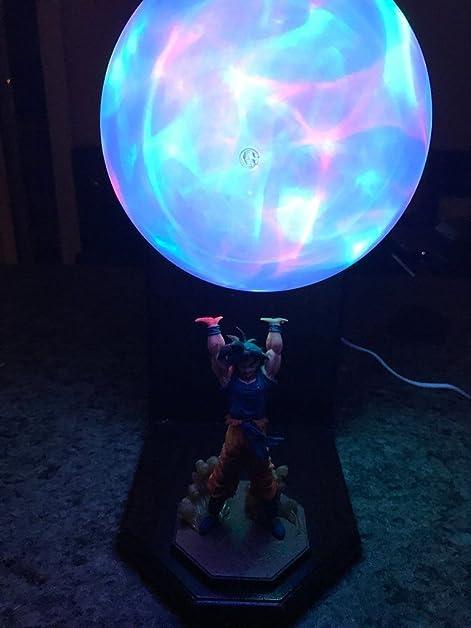 Dragon Ball Z Genki Dama Spirit Bomb Son Goku Power Energy Aura Lamp  8u0026quot; DBZ