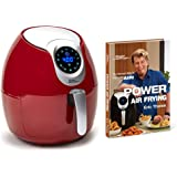 Power Air Fryer XL 5.3 Qt Deluxe with Power Air Frying Hardcover Cookbook by Eric Theiss