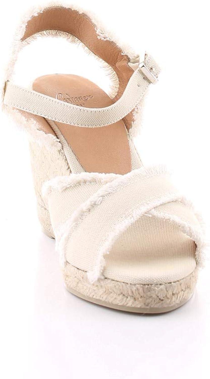 Casta/ñer Chaussures Femme Espadrille /À Semelle Compens/ée/ Bromelia Blanc SS 2020
