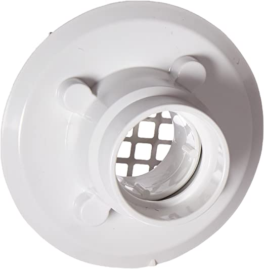 """2/"""" or 3/"""" PVC Square drain w// stainless steel strainer for tile shower bases"""