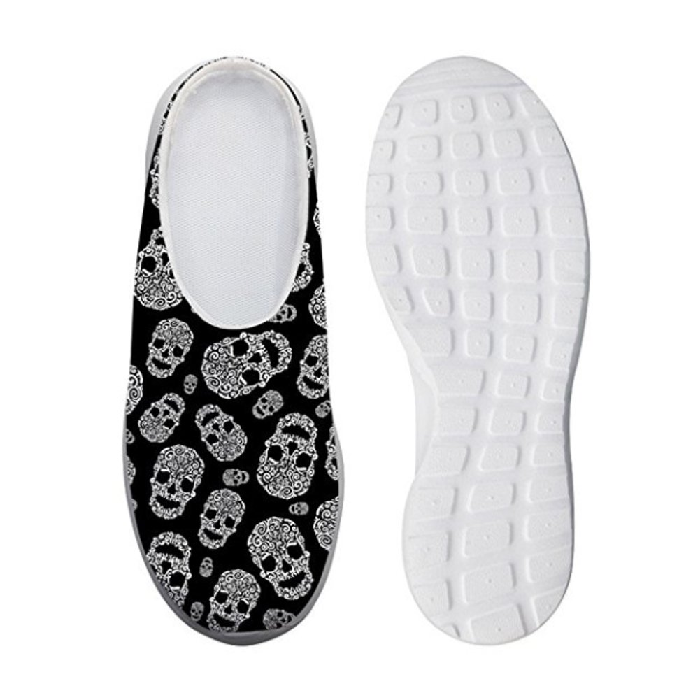 Showudesigns Damen Plateau  42 EU|Skull 2