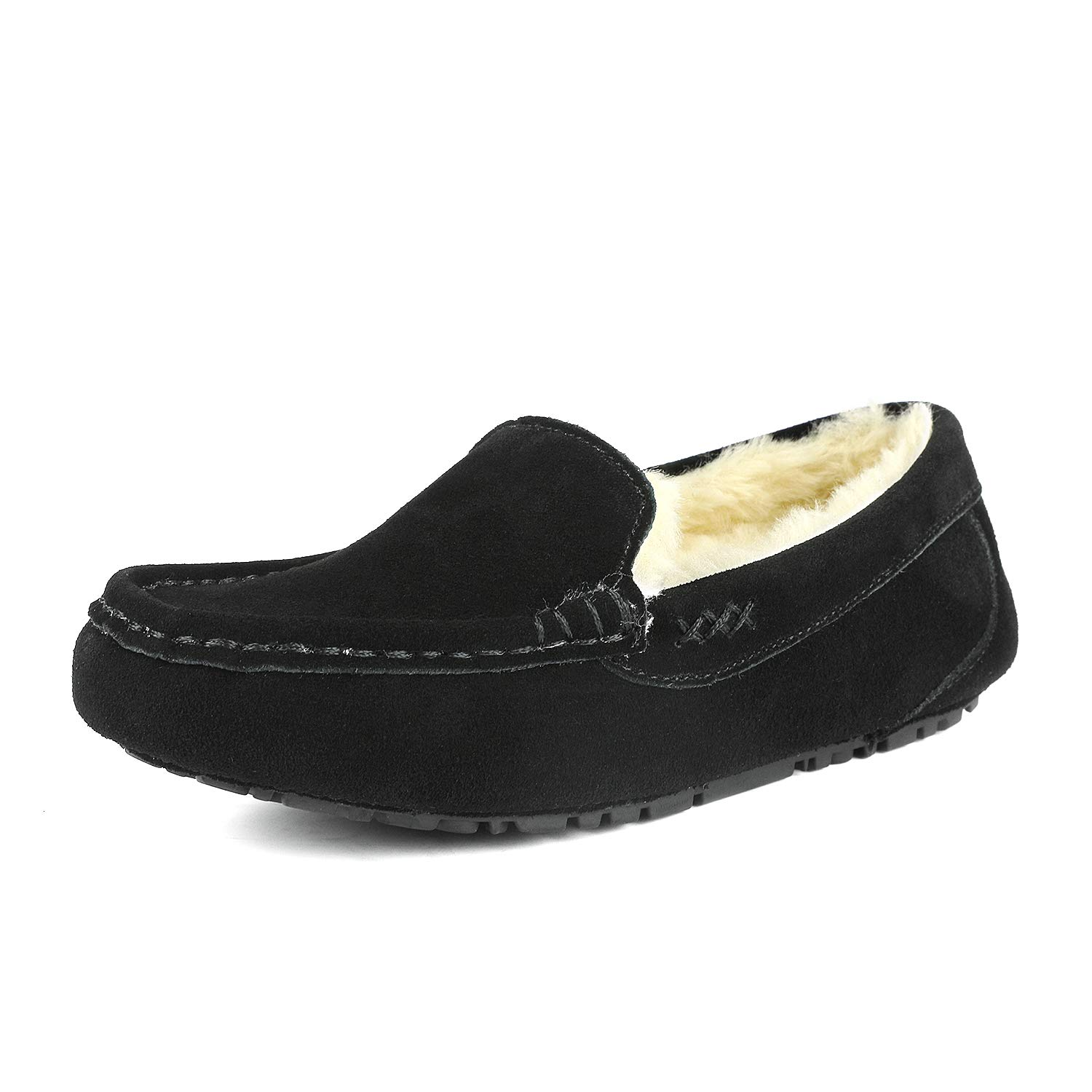 b9c46a7bee3e0 DREAM PAIRS Women's Auzy Winter Moccasins Slippers
