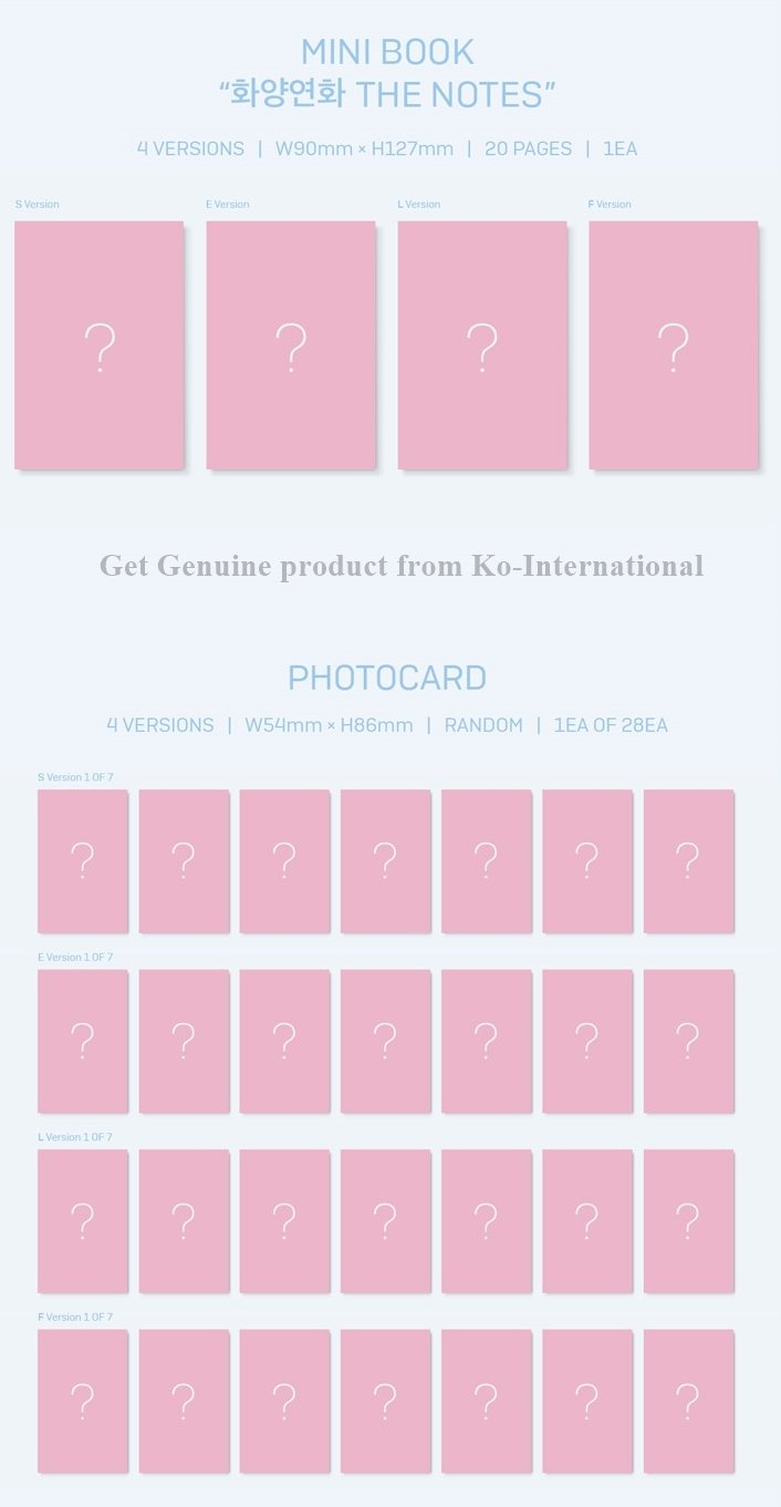 [PRE-Order] BTS LOVE YOURSELF 結 'ANSWER' 4 ver. Set (S, E, L, F) by BTS GOODS