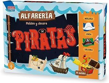 Falomir Alfarería Piratas mesa. Juego Artístico. (28438) , color/modelo surtido: Amazon.es: Juguetes y juegos