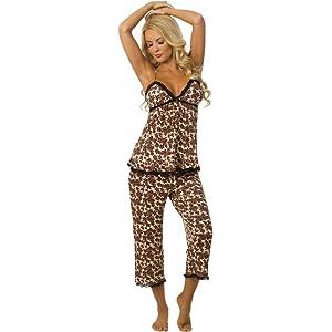 Velvet Kitten Sexy Capri Pajama Set for Women 553265
