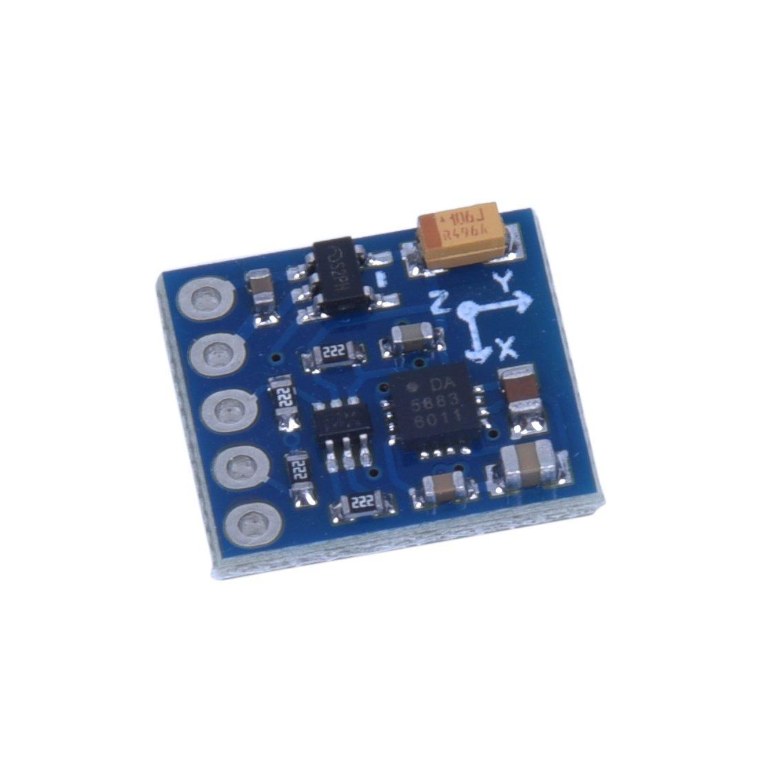 TOOGOO(R) HMC5883L Power supply:3V-5V Triple Axis Compass Magnetometer Sensor Module by TOOGOO(R) (Image #3)