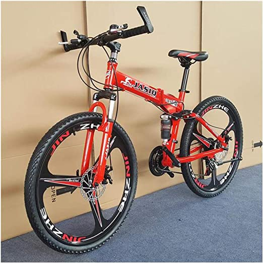 ZZTHJSM Bicicletas Estaticas Pleqable, Bicicleta MTB, Bike Adulto ...