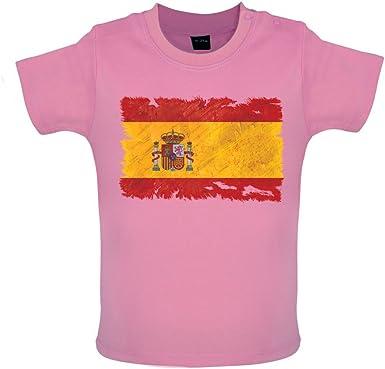 Dressdown España Grunge Estilo Bandera – bebé/camiseta – Rosa – 6 ...