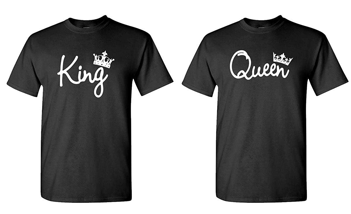 677f08a7 King and Queen - Couples Two T-Shirt Combo Pack