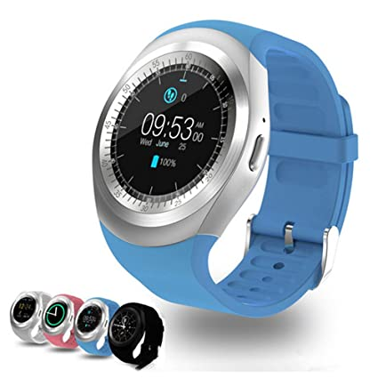 Amazon.com: Smart Watch Y1 Smart Watch Bluetooth 3.0 Ronda ...