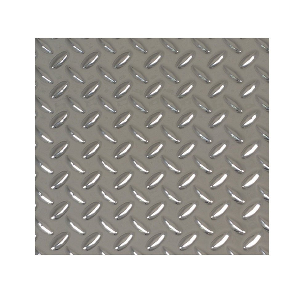M-D Building Products 56026 11-7/8-Inch by 23-7/8-Inch Faux Metal Plastic Treadplate