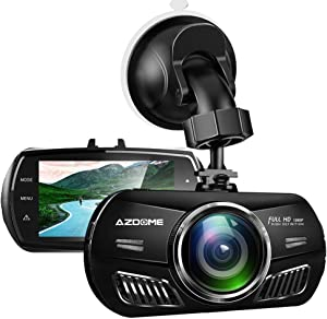 [Newest] Dash Cam for Car, 3 inch 2.5D IPS Screen Dash Camera HD1080P Car Camera DVR with Sony Night Vision Sensor,Time-Lapse Video,G-Sensor,Loop Recording,Parking Monitor Support 64GB Max