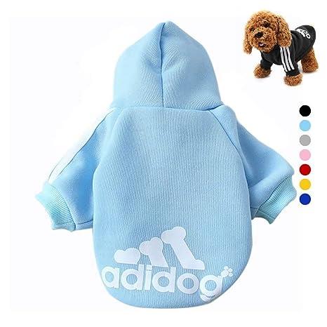 LILITRADE Adidog Perros Ropa Chaqueta Abrigo Sudadera ndchen cálido Sudaderas Abrigo Perros Plus Terciopelo Mascotas Cachorros