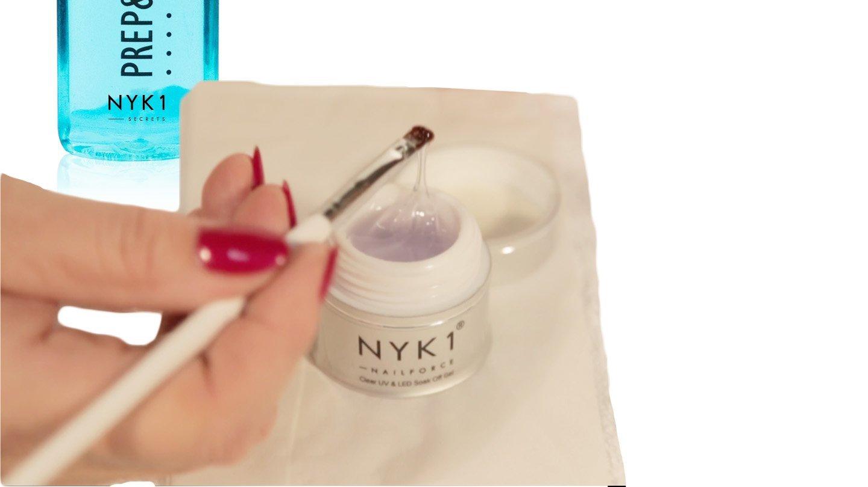 NYK1 NailForce Gel Uñas Constructor - Esmaltes Permanentes Para Uñas UV Y LED/Endurecedor Uñas Para Pintauñas Permanente Y Semipermanentes/Esculpe, ...