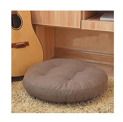Amazon.com: JINGXIN Round Linen Futon Pad Floor Pillow ...