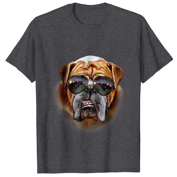 Amazon.com: popularshop Swag English Bulldog in Aviator ...