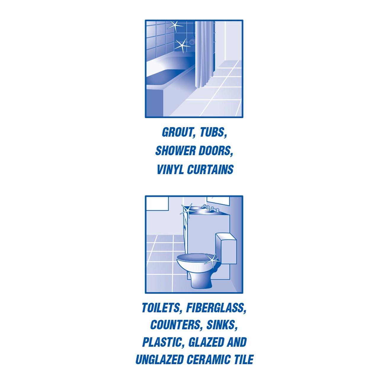 Amazon.com: Tilex Clorox Plus Bathroom Cleaner, Spray Bottle, Lemon ...