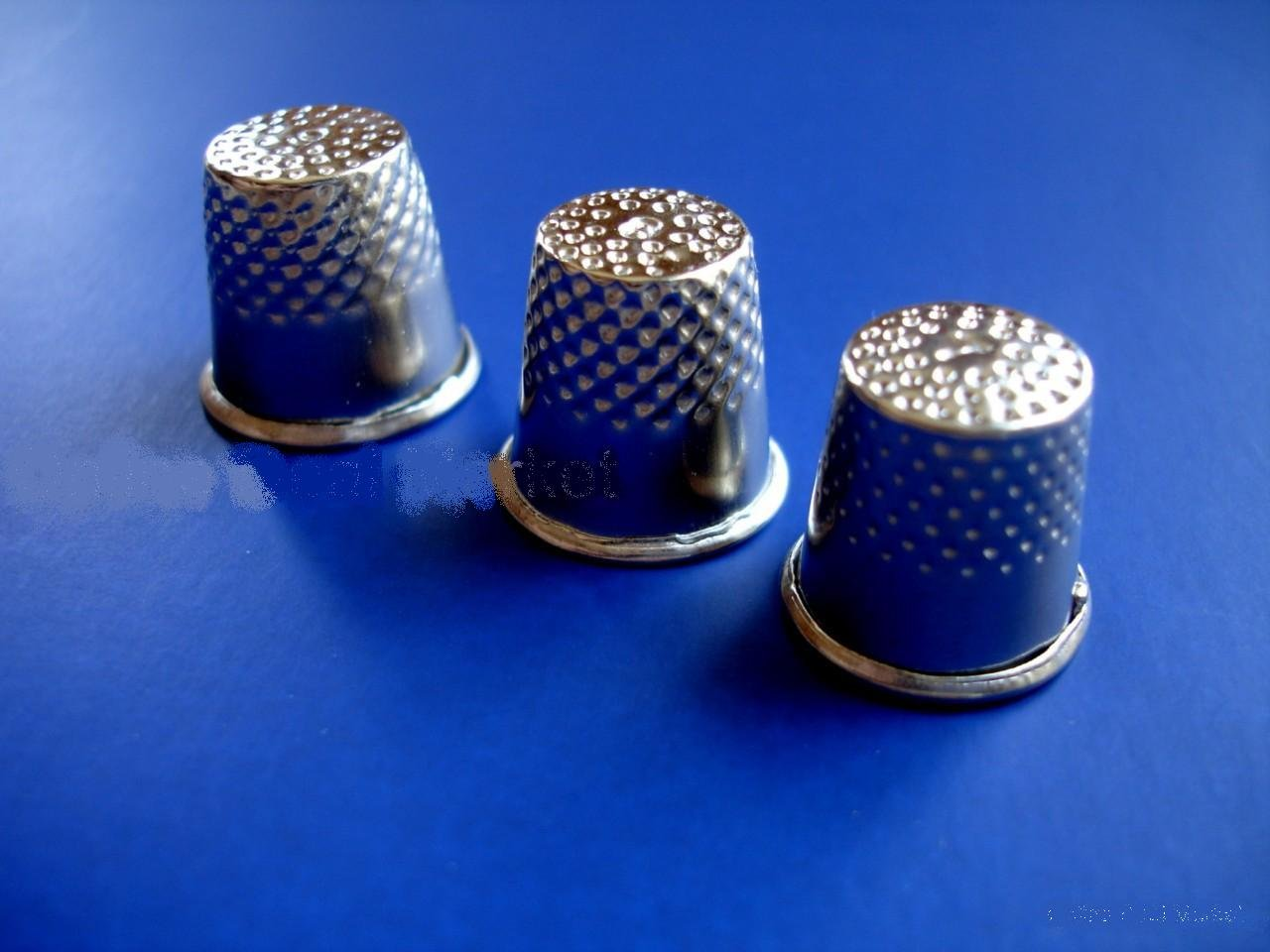 NEW 3 Assorted Size 7 8 /& 9 SEWING Thimbles Thimble Safety Quilting