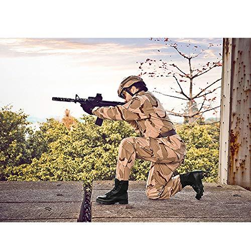 Scarpe Trekking Stivali All'usura Commando Per Antiscivolo Dimensioni E Grandi Di Militari Uomo Da Black Resistenti 8q87vtr