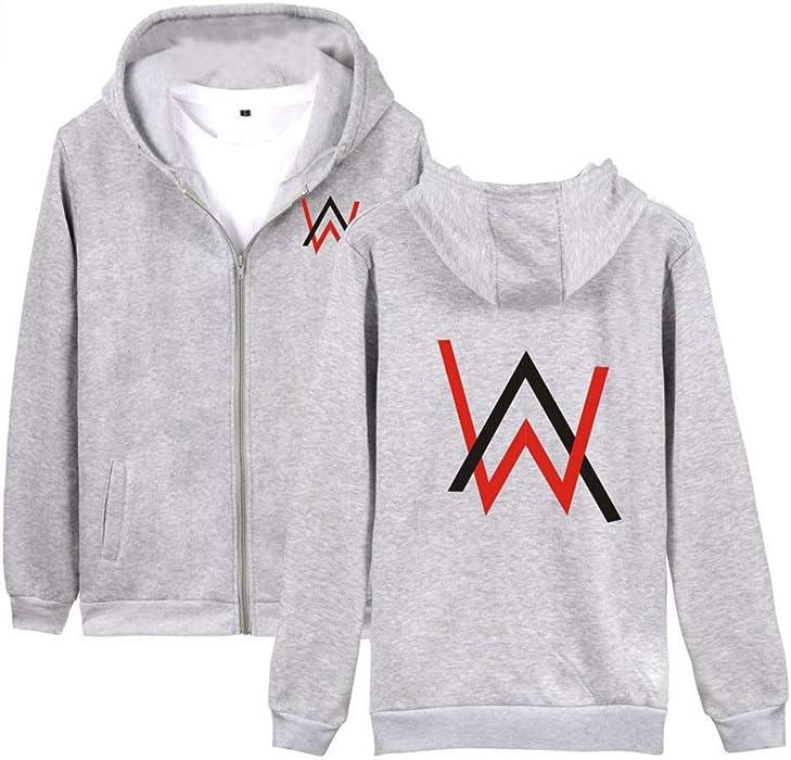 BESTHOO Alan Walker Caída Invierno Hoodie Jacket Coat Outwear Ocasionales Sudaderas Fashion Jacket Coat Outwear