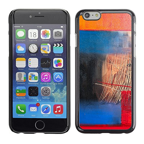Premio Sottile Slim Cassa Custodia Case Cover Shell // V00001925 Peinture abstraite // Apple iPhone 6 6S 6G PLUS 5.5""