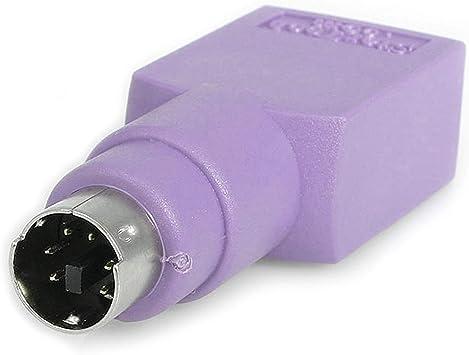 Adaptador Teclado USB a conector PS/2 PS2 MiniDIN: Amazon.es ...