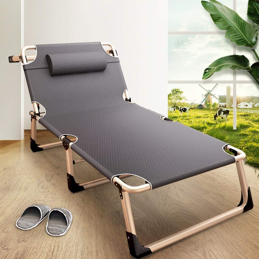 Amazon.com: Silla plegable para cama, terraza, jardín ...