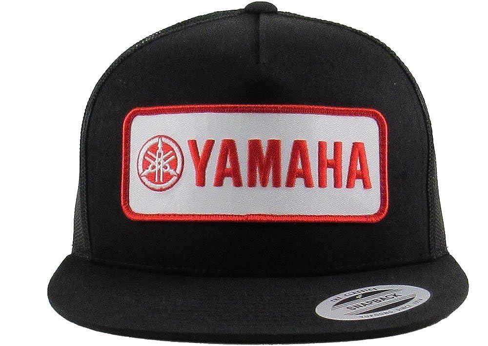 f35ed2a8b5010 Mayhem Industries Yamaha Flex FIT Trucker Patch HAT by at Amazon Men s  Clothing store