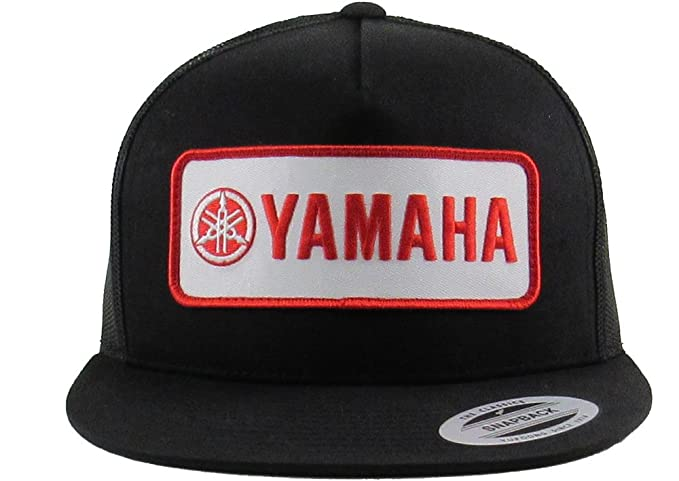 c36ad9dab8ce1 Image Unavailable. Image not available for. Colour  Mayhem Industries Yamaha  Flex FIT Trucker Patch HAT by