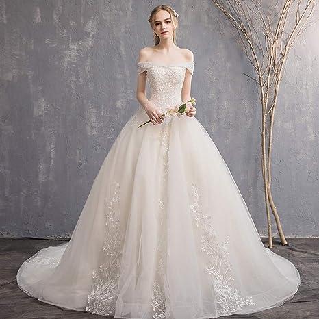 Imagenes de vestidos de novia con cola larga