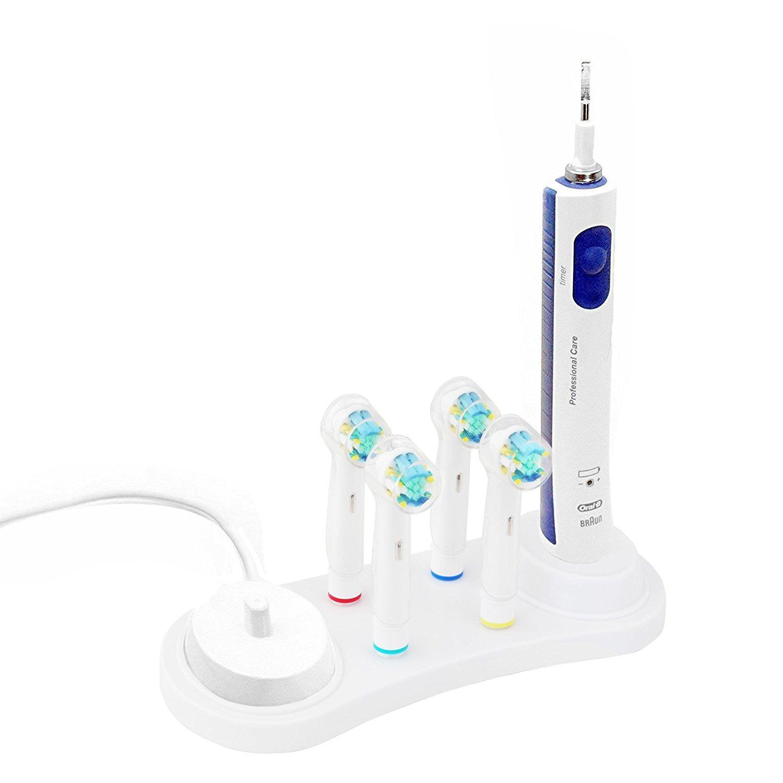 FOURCHEN portátil Estuche de Viaje Cepillo de Dientes eléctrico de plástico de Repuesto para Oral-B Pro Serie (Oral B Holder): Amazon.es: Hogar