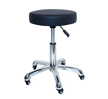 Antlu Rolling Swivel Stool Chair For Salon Spa Office Tattoo Facial Kitchen  Massage Medical (Adjustable