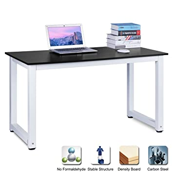 Escritorio de DOSLEEPS, para ordenador, oficina o portátil, con ...