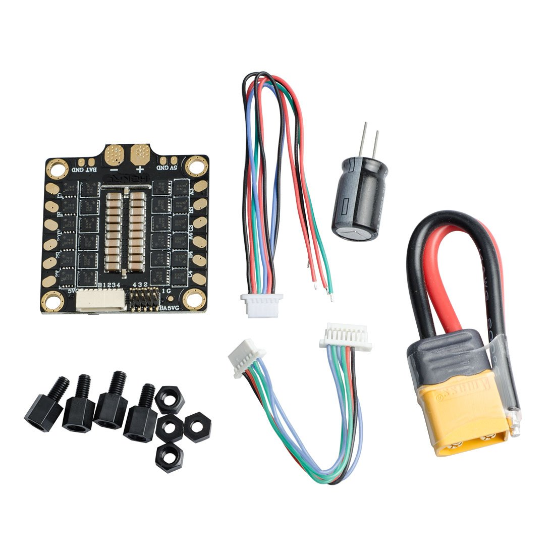 AKK 30A 4 IN 1 2-6S Brushless ESC BLHeli_S Electronic Speed Controller DShot150/300/600 Capable for Micro Racing Drones