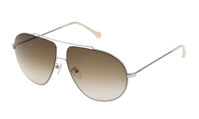 Loewe SLW477M630579 Gafas de sol, Shiny Palladium, 63 para ...
