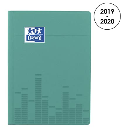 Oxford 100735770 Touch – Agenda escolar (semanal 2018 – 2019 1 semana en 2 páginas, 15 x 21 cm, Atoll
