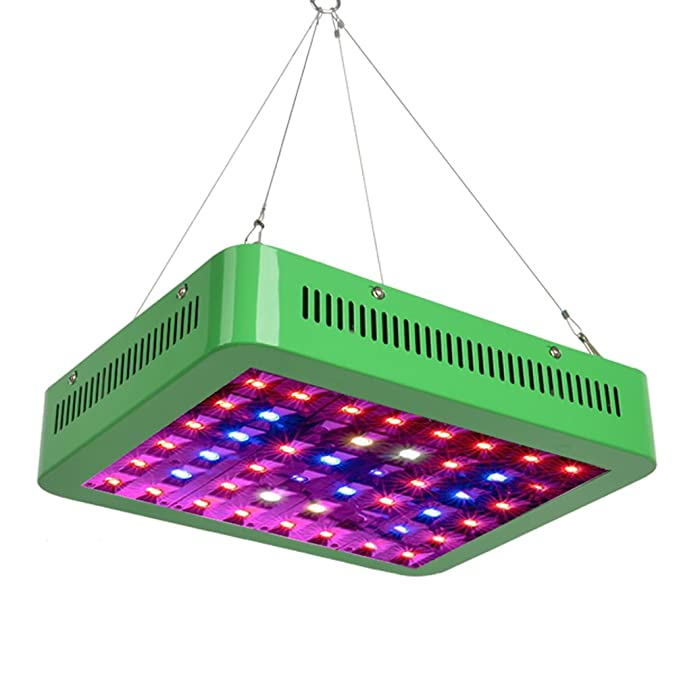 Amazon.com: GROWNEER 300W LED Bombillas de Crecimiento Panel ...